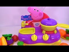 Toys Fun Land: Baby Cooking of Peppa Pig Breakfast from Play Doh ...