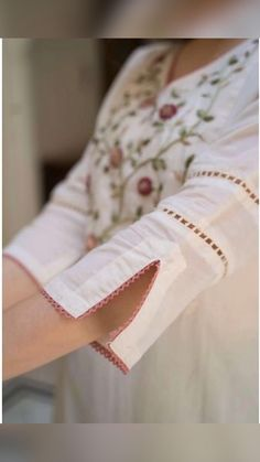 Neck Designs For Suits, Neckline Designs, Sleeves Designs For Dresses, Dress Neck Designs, Stylish Dress Designs, Sleeve Designs, Blouse Designs, Kurti Sleeves Design, Kurta Neck Design