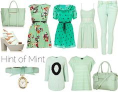 Pastel Trend #mint #fashion #style