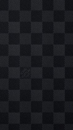 ルイヴィトンダミエブラック iPhone壁紙 Wallpaper Backgrounds iPhone6/6S and Plus LOUIS VUITTON