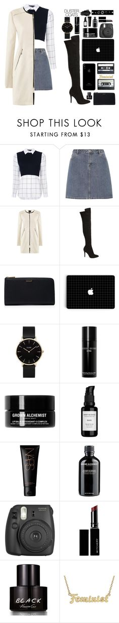 """Off to work"" by biscuitatlas ❤ liked on Polyvore featuring Alice + Olivia, A.P.C., Charles by Charles David, Bally, CLUSE, Bobbi Brown Cosmetics, Grown Alchemist, Root Science, Fujifilm and Witchery"