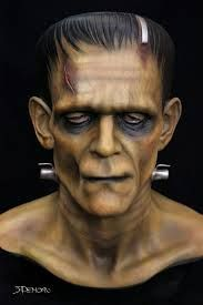 the bust of frankenstein by miles teves - Google Search