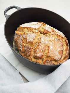 Avec Sofié l Pataleipä l Bake French bread at home. Recipe to the crusty and salty French bread through the picture. No Salt Recipes, Cake Recipes, My Favorite Food, Favorite Recipes, No Knead Bread, Sweet And Spicy, No Bake Desserts, Bread Baking, Let Them Eat Cake