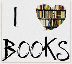 I heart books.....