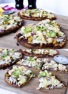 BBQ Jalapeno Chicken Flatbread | Simple BBQ Recipe and Ideas by DIY Ready at http://diyready.com/diy-recipes-bbq-ideas/