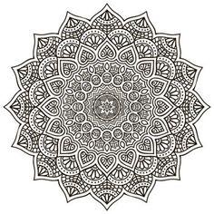 mandala: Mandala. Round Ornament Pattern. Vintage decorative elements. Hand drawn background