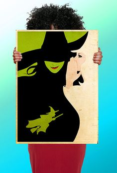 Wizard of OZ  Wicked Witch mUSICAL  - Art Print / Poster / Cool Art - Any Size