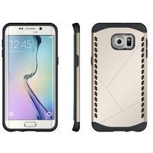 Moda para Samsung S6edge plus casos híbrido Dual Heavy Duty TPU + PC homem de ferro escudo 3D armadura capa S6dege plus caso capa //Price: $US $3.95 & FREE Shipping //    #vingadores #ageofultron #marvel