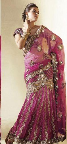 $168.08 Pink Faux Georgette,Net Chaniya Choli 11787