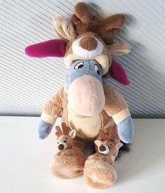 DISNEYLAND Paris Pj Pal Santa EEYORE Reindeer Pyjamas Winnie The Pooh 25cm | eBay