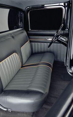 Custom Classic Car Interior Automotive Interiors On Pinterest