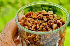 Nødde granola uden sukker