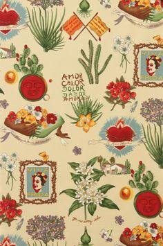 Preciosa tela realizada en 100% algodón de alta calidad. Ideal para ropa, decoración, encuadernación, accesorios, pachtwork... Ancho de la tela 112 cms