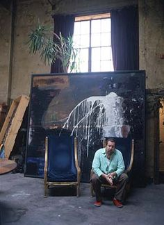 SCHNABEL STUDIO NEW YORK. I've always been irrationally jealous of him!