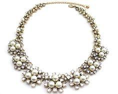 Wiipu wedding pearl necklace crystal necklace(C1502) wiipujewelry http://www.amazon.com/dp/B00EDIJ2IQ/ref=cm_sw_r_pi_dp_FUfIwb0DKNK4R