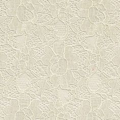 Tan Chic Pattern Vintage Cotton Floral Lace Fabric by the Yard, Wedding Lace Fabric, Bridal Lace Fabric - 1 Yard Style 163