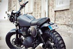 Custom Triumph Bonneville T100 | Renard - Grease n Gasoline