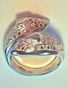 SILVER SNAKE RING HAND MADE