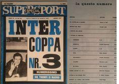INTER-SUPERSPORT-marzo 1967-INTER COPPA nr. 3-TRIONFO DI MADRID-GIGI RIVA