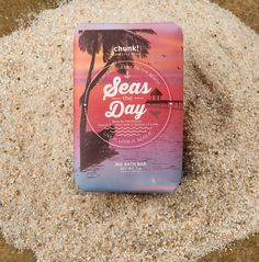 Seas the Day Chunk | Perfectly Posh Shea butter and wild cherry extract bring a wave of beachy perfection to your skin with a splash of agave fragrance. You'll be ready to Seas the Day after every shower!