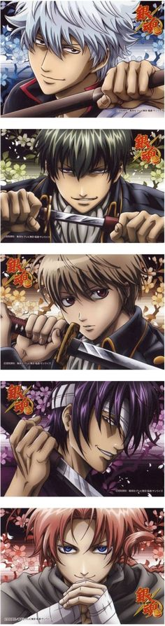 I love Gintama, it's so good Manga Art, Manga Anime, Anime Art, All Anime, Me Me Me Anime, Gintama Wallpaper, Silver Samurai, Gekkan Shoujo, Okikagu