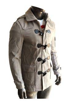 49a01f5f6f4f3 montgomery hombre paño capucha desmontable