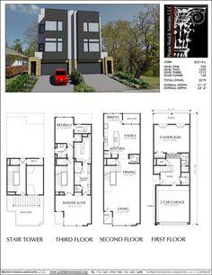 Townhouse Plan E2214