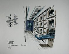 The Fifth Element: 40 Original Concept Art Gallery - Daily Art, Movie Art Classic Sci Fi Movies, Conceptual Sketches, Sf Movies, Concept Art Gallery, Book Creator, Fifth Element, Star Wars Film, Landscape Drawings, Landscapes
