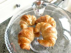 Homemade butter croissants Butter Croissant, Homemade Butter, Croissants, Shrimp, Meat, Food, Crescents, Essen, Crescent Roll