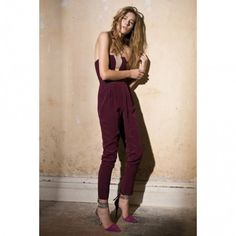 Silk V Jumpsuit - Clothing - Ready To Wear - Collections- ZIMMERMANN