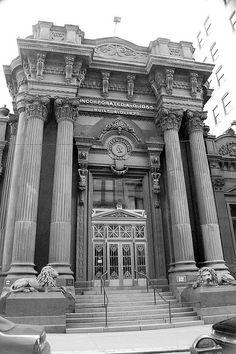 Bank, built 1870, Pittsburgh.