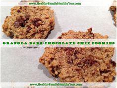 Vegan Gluten-Free Granola Bars/Healthy Chocolate Chip Cookies!