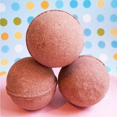Chocolate Bath Bomb ($4) ❤ liked on Polyvore featuring beauty products, bath & body products, body cleansers, bath & beauty, bath bombs, grey and soaps