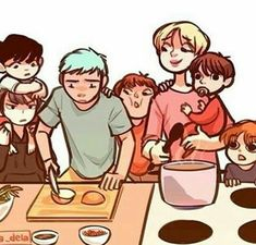 RapMonster has the highest IQ out of the group yet he still doesn't know what way to cut onions