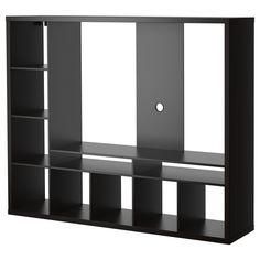 LAPPLAND Tv-meubel - zwartbruin - IKEA