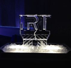 IRT ice luge for a corporate event. #iceluges