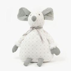 Ratinho Cinza e Branco 30 cm | referência 66369782 | A Loja do Gato Preto | #alojadogatopreto | #shoponline