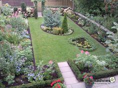 Een foto uit de tuin van Alyssum
