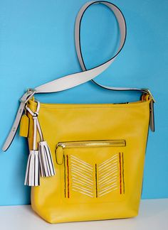 : stitched bag