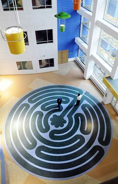 """""""The new Children's Hospital: Design elements combine to put patients, parents at ease"""" Lawrenceville, Pittsburgh."""