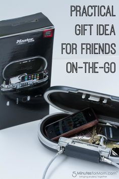 Sometimes it can be hard to come up with new ideas for presents that our loved ones will actually use. Here is a practical gift idea for friends on the go or college students.