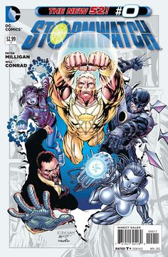 STORMWATCH #4 VF//NM THE NEW 52!