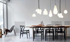 """chairs """"CH 24"""", table """"CH 339"""", chair """"CH 07"""": www.carlhansen.com"""