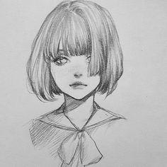 Beautiful Pencil Drawings Art sur papier en ligne ScatterPlot Find It Easy Pencil Drawings, Beautiful Pencil Drawings, Pencil Drawing Tutorials, Anime Drawings Sketches, Anime Sketch, Cute Drawings, Art Tutorials, Drawing Tips, Pen Drawings