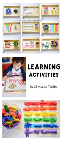 Learning activities for - Kids education and learning acts Toddler Learning Activities, Montessori Toddler, Montessori Activities, Toddler Play, Infant Activities, Toddler Preschool, Activities For Kids, Montessori Bedroom, Baby Play