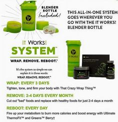 Order today to get started on the It Works System.  Be Summer-Ready in 90 days! Order here: www.clbodywraps.itworks.com