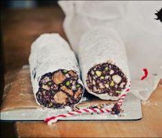 Rezept Schoko-Salami von Maria mag Törtchen - Rezept der Kategorie Backen süß