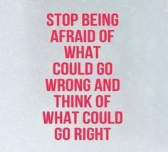 Conquer the Fear