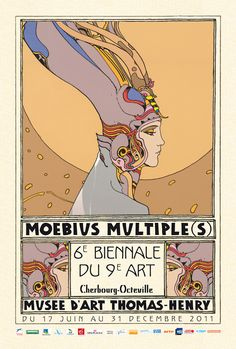 Moebius exhibit flyer