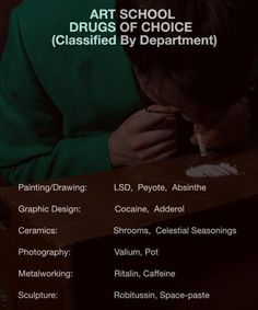 Art School Drug of Choice